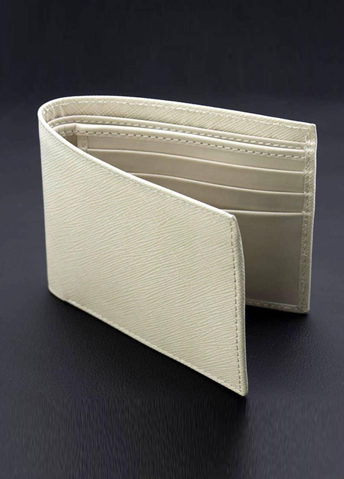 Skangen Vertical Premium Cow Leather Lined Texture Wallets SKWT-1001 - Men's Accessories
