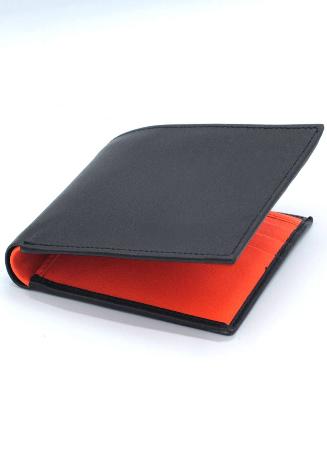 Skangen Plain Exterior Premium Cow Leather Wallets SKWT-1008 - Men's Accessories