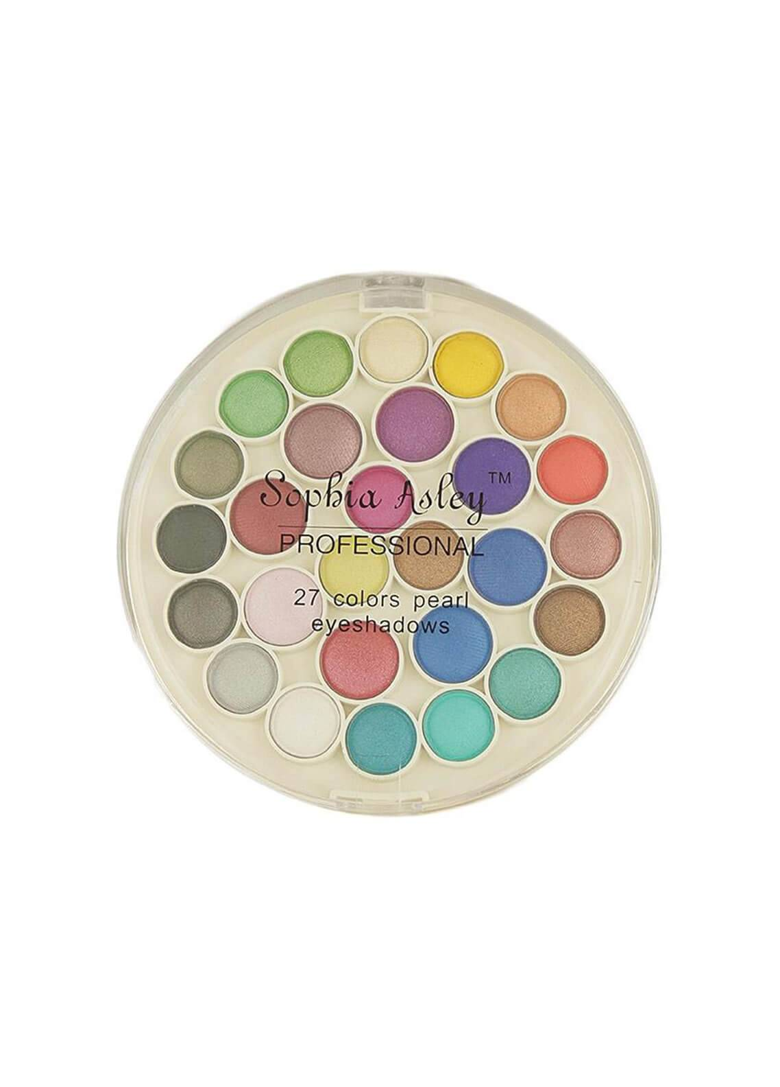 Sophia Asley 27 Colors Matte Eye Shadow Kit - Pearl