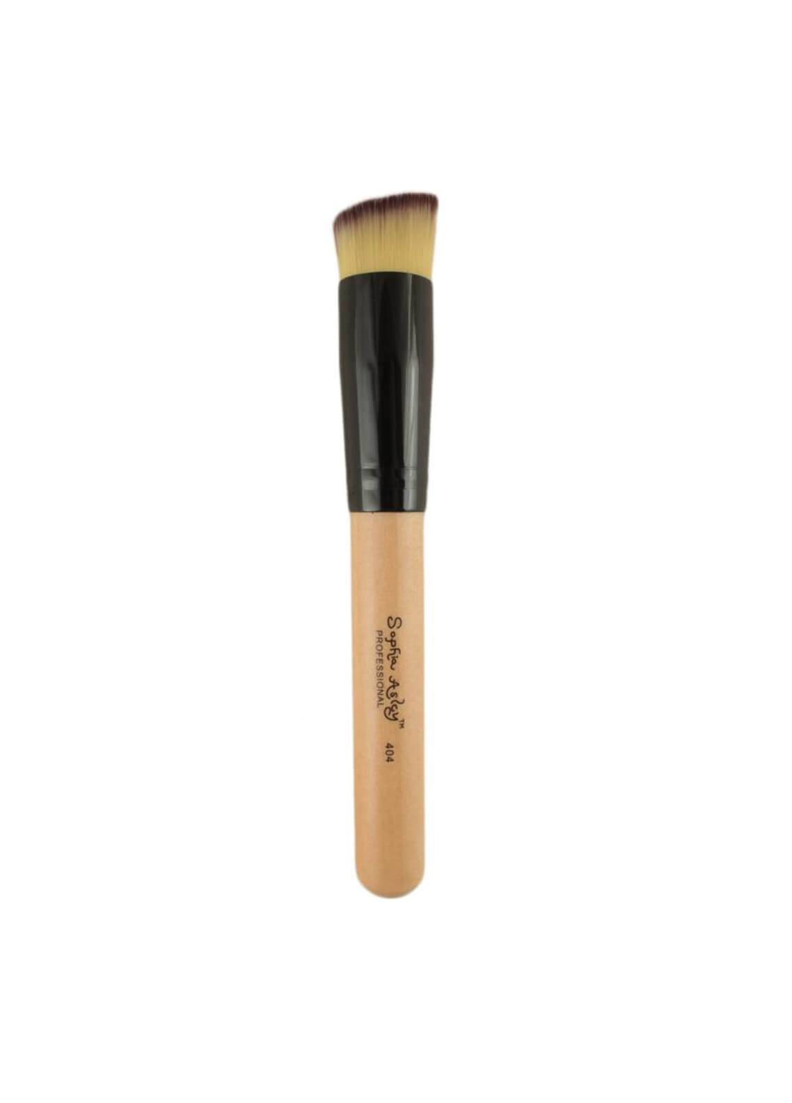 Sophia Asley Professional Wooden Double Sided Brush Applicator with Contoring
