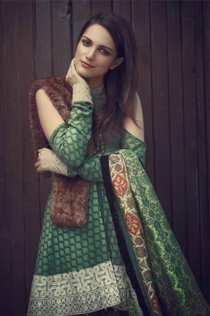 Saira Rizwan Embroidered Karandi Unstitched 3 Piece Suit SR16W 02