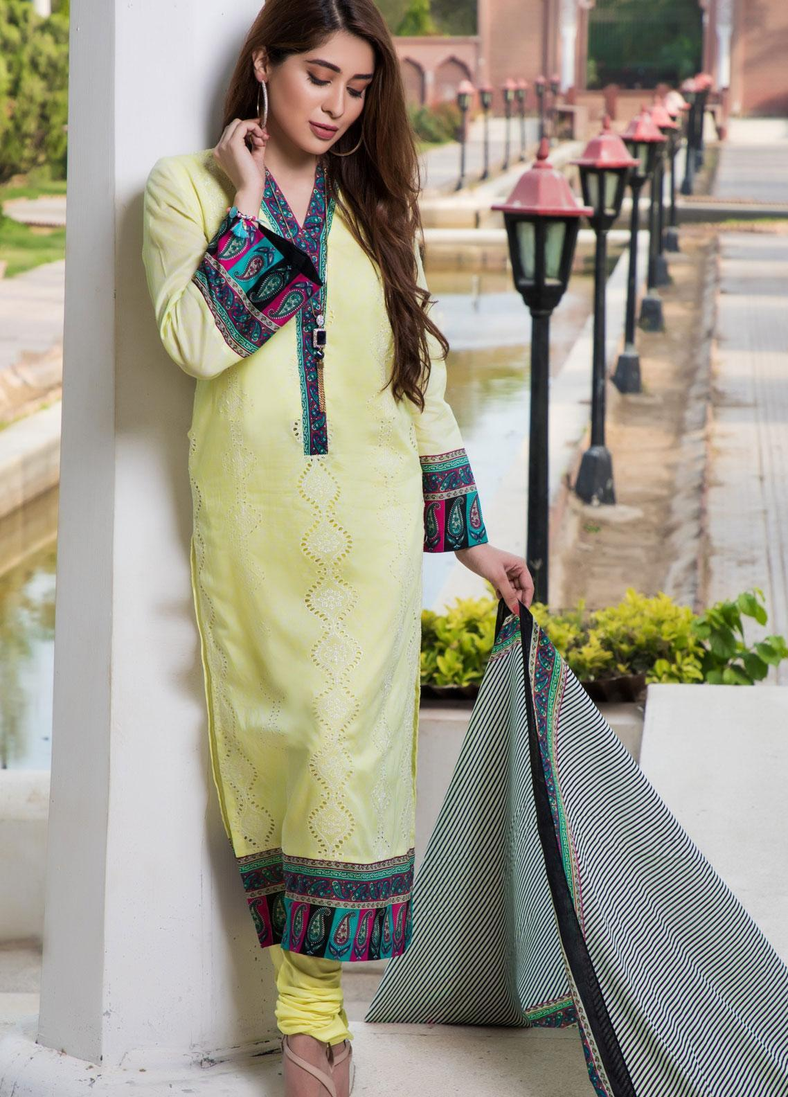 Subata by Regalia Textiles Embroidered Lawn Unstitched 3 Piece Suit SBR19F 2B - Festive Collection