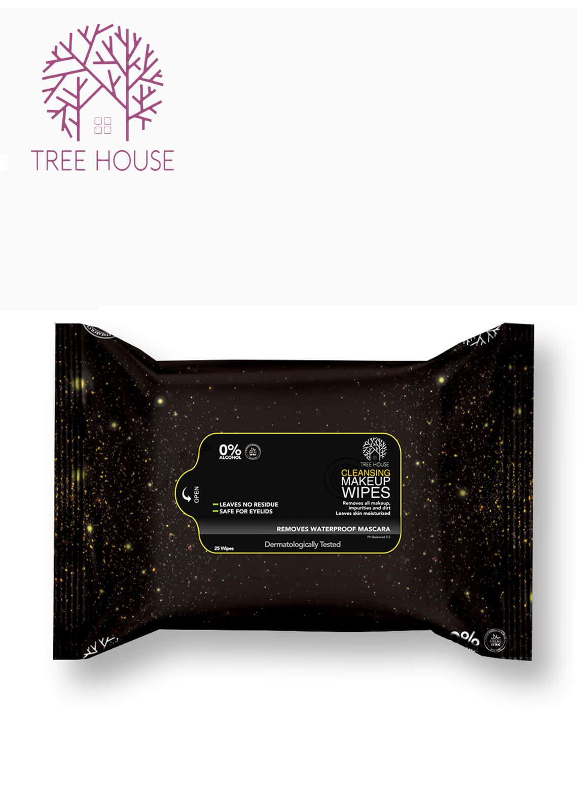 Tree House Cleansing Makeup Wipes