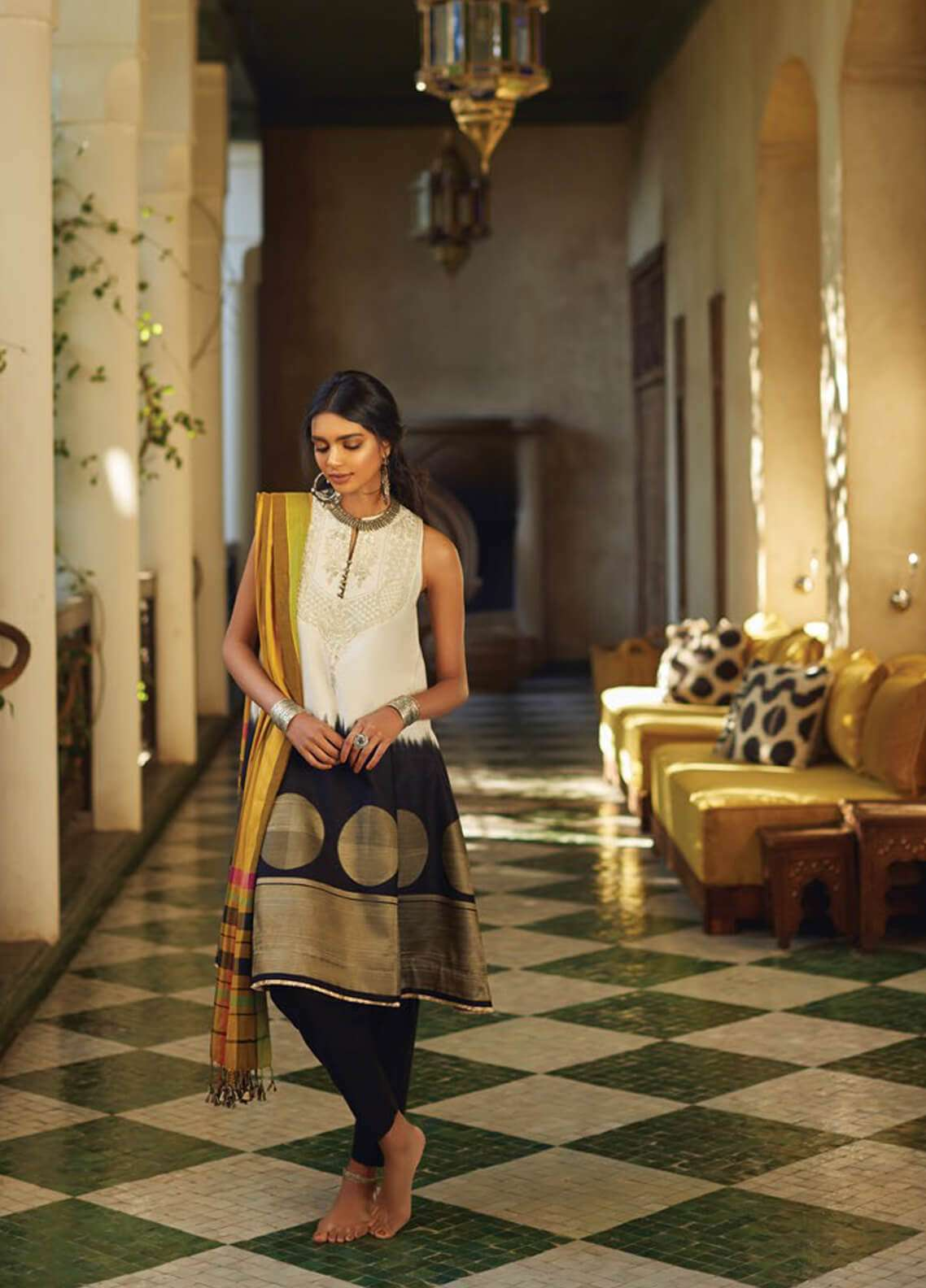 Zara Shahjahan Embroidered Jacquard Unstitched 3 Piece Suit ZSJ19L SOHNI A - Spring / Summer Collection