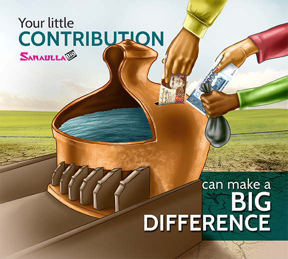 Your little contribution can make a big difference.